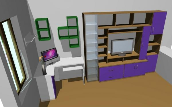 Proiect Living Clasic-Camera De Zi