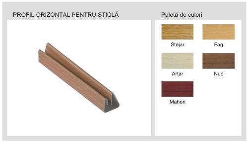 Profil Orizontal Pentru Panel