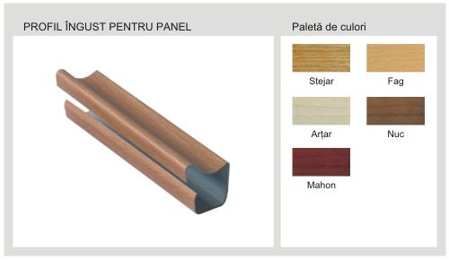 Profil Ingust Pentru Panel